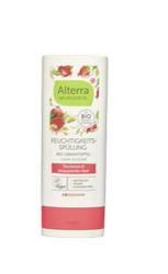 Alterra Feuchtigkeits-Spülung Bio-Granatapfel & Bio-Aloe Vera odżywka bio-granat i bio-aloes