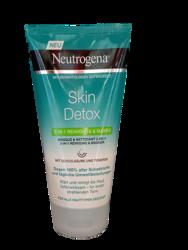 Neutrogena Skin Detox Maske & Waschgel Skin Detox 2-in-1 maska i żel myjący 2w1 kwas glikolowy, glinka