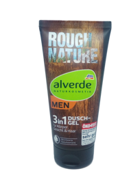 Alverde Naturkosmetik Duschgel Rough Nature 3in1 żel pod prysznic 3w1