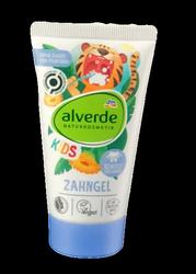 Alverde Naturkosmetik Zahngel Kinder ab 6 Monate owocowy żel do mycia zębów od 6 miesiąca