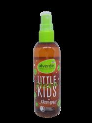 Alverde Naurkosmetik Little Green Leichtkämmspray ekologiczny spray do włosów dla dzieci ułatwiający rozczesywanie