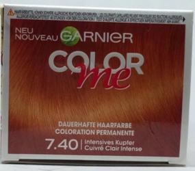 Garnier Color me Intensives Kupfer Dauerhafte Haarfarbe 7.40 farba intensywan miedź