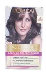 Loreal Paris Excellence Creme Coloration Mittelbraun farba do włosów nr 4 średni brąz