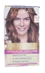 Loreal Paris Excellence Creme Coloration helles Caramelbraun 6.41 farba do włosów nr 6.41 jasny karmelowy brąz