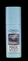 Loreal Paris Magic Retouch Sofort Ansatz-Kaschierspray Braun bis Mittelblond spray na odrosty brąz średni brąz 90 ml