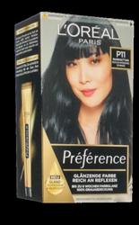 Loreal Preferance Infinia Manhattan P11 farba do włosów chłodna intensywna czerń nr P11