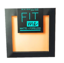 Maybelline Fit Me! Matte und Poreless Powder nr 250 Sun Beige mattierendes Puder puder matujący nr 250 słoneczny beż