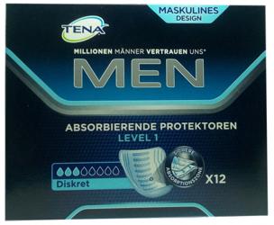 Tena Men Level 1 Hygieneeinlage Blasenschwächew wkładki dla mężczyzn