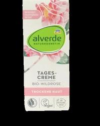 alverde GesicTagescreme Bio-Wildrose krem na dzień dzika róża cera sucha