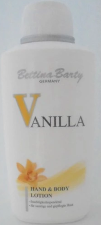 Bettina Barty Vanilla Hand & Body Lotion balsam do ciała wanilia 500 ml