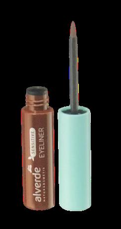Alverde Sensitive Eyeliner braun eyeliner do wrażiwych oczu brązowy