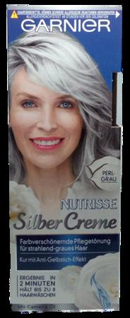 Garnier Nutrisse Tönung Silber Creme Perl-Grau krem tonujący perłowy siwy