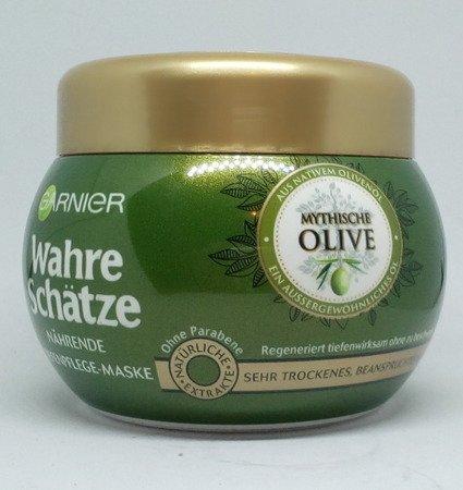 Garnier Wahre Schätze Tiefenpflege-Mythische Olive maska do wlosów oliwa