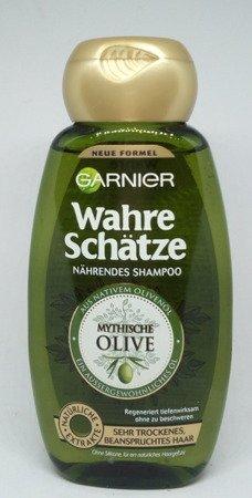 Garnier Wahre Schätze Tiefenpflege-Mythische Olive szampon do wlosów oliwa