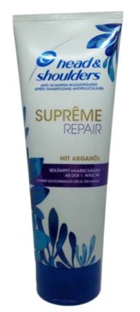 Head&Shoulders Anti-Schuppen Spulung suprême odżywka olej arganoywy