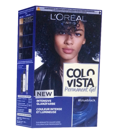 L'Oréal Colovista Haarfarbe blueblack farba do włosów niebieskia czerń