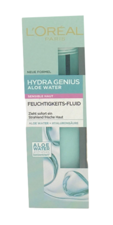 Loreal  Paris Hydra Genius Aloe Water sensible Haut nawilżający fluid skóra wrażliwa
