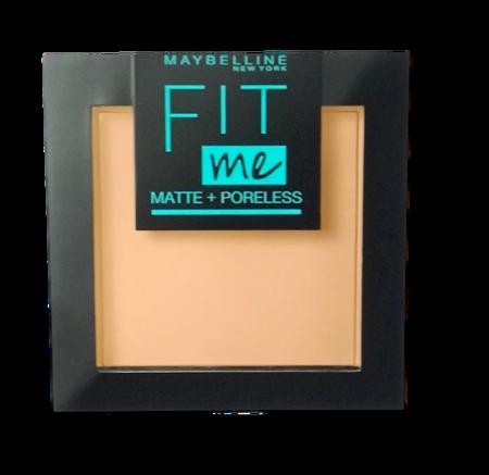 Maybelline Fit Me! Matte und Poreless Powder nr 130 Buff Beige mattierendes Puder puder matujący nr 130 buff beż