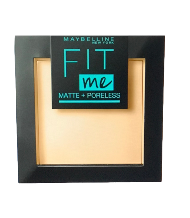 Maybelline Fit Me! Matte und Poreless Powder nr 220 Natural Beige mattierendes Puder puder matujący nr 220 naturalny beż