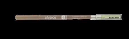 alverde Natrukosmetik Augenbrauenstift Braun 02 kredka do brwi brąz