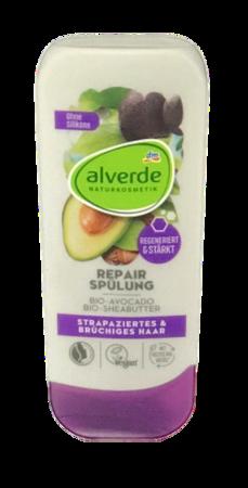 alverde Naturkosmetik Spülung Repair odżywka do włosów masło Shea, awokado