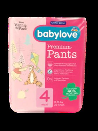 babylove Pants Windelslips Größe 4,maxi 8-15 kg 22 szt. pieluchomajtki