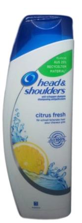 head & shoulders  Shampoo Anti-Schuppen Citrus Fresh szampon cytrusy
