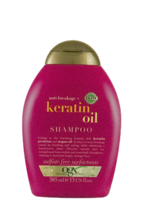 ogx anti-breakage keratin oil Shampoo szampon do włosów keratyna