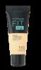 Maybelline Jade New York Fit me! Matte+Poreless mattierendes Make-up 100  Warm Ivory podkład matujący nr 100 ciepła kość słoniowa